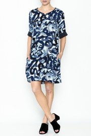 Numph Watercolor Shift Dress - Side cropped