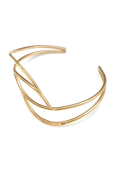 NuraBella Weave Gold Cuff - Alternate List Image