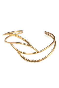 NuraBella Weave Gold Cuff - Product List Image