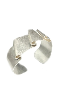 NuraBella Folding Silver Metal Cuff - Alternate List Image