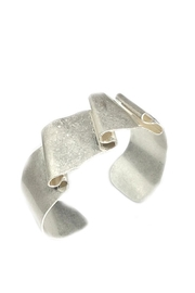 NuraBella Folding Silver Metal Cuff - Product Mini Image