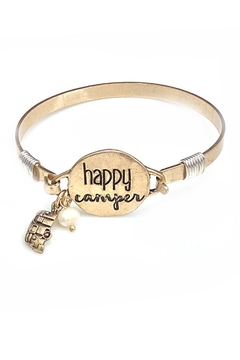 NuraBella Happy Camper-Gold Bracelet - Product List Image