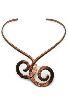 NuraBella Twisty Pure Copper Choker - Product List Image