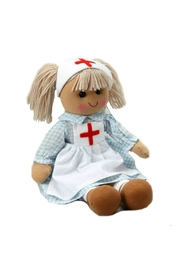 Powell Craft Nurse Rag Doll - Front cropped