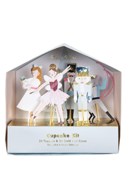 Meri Meri  Nutcracker Christmas Cupcake Kit - Product Mini Image