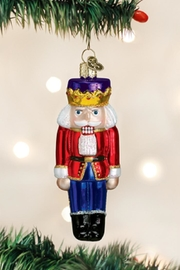 Old World Christmas Nutcracker Prince Ornament - Front cropped