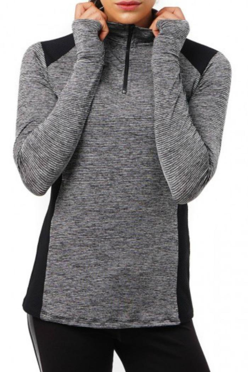 NUX Flynn Mesh Pullover - Front Cropped Image