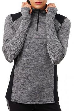 Shoptiques Product: Mesh Insert Pullover