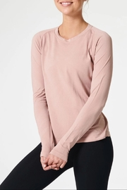 NUX Sleek Ls Tee - Front cropped