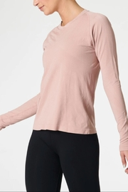 NUX Sleek Ls Tee - Front full body