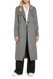 NVLT Long Grey Coat - Product Mini Image