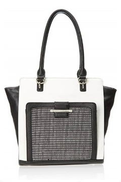 Nine West Nw Black/white Tote - Product List Image