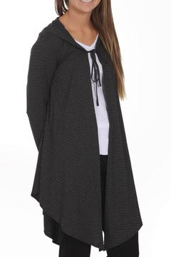 NYAH Striped Hooded Cardigan - Product List Image