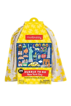 Mudpuppy Nyc Puzzle-To-Go - Product List Image