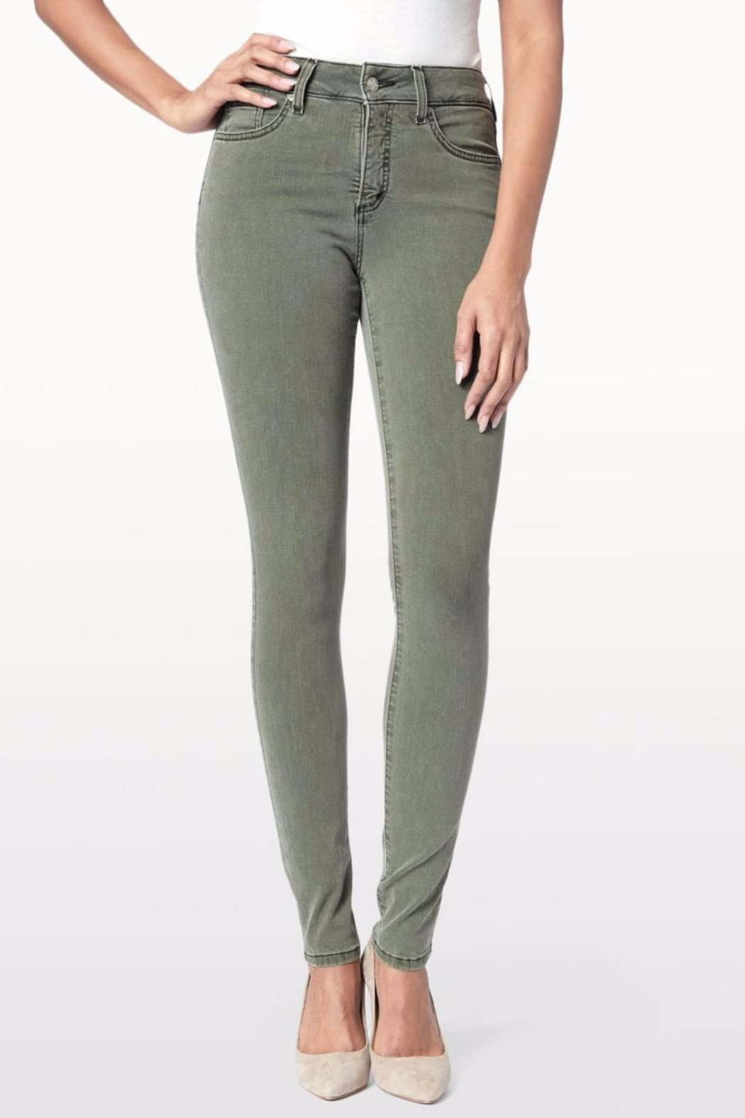NYDJ Alina Jeans - Front Cropped Image