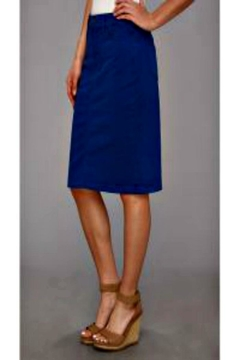 NYDJ Blue Twill Skirt - Alternate List Image