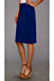 NYDJ Blue Twill Skirt - Product Mini Image