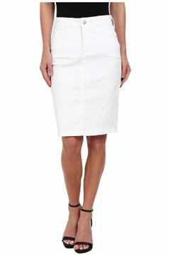 NYDJ White Denim Skirt - Product List Image