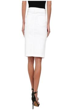 NYDJ White Denim Skirt - Alternate List Image