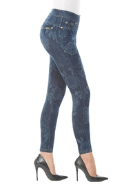 Nygard Floral Print Jeans - Front full body