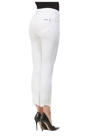 Nygard Frayed Crop Jeans - Front full body