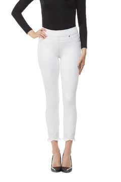Nygard Frayed Crop Jeans - Product List Image