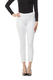 Nygard Frayed Crop Jeans - Product Mini Image