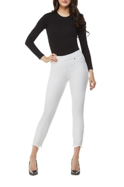 Nygard Frayed Crop Jeans - Side cropped