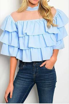 Shoptiques Product: Ruffle Blouse Top