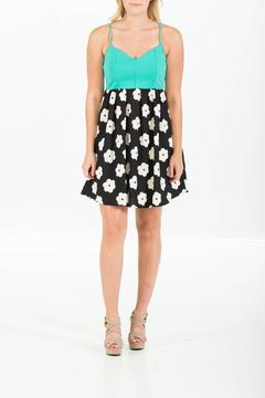 Shoptiques Product: Mint Flowered Dress