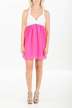 Nymphe Pink Sweetheart Dress - Product List Image