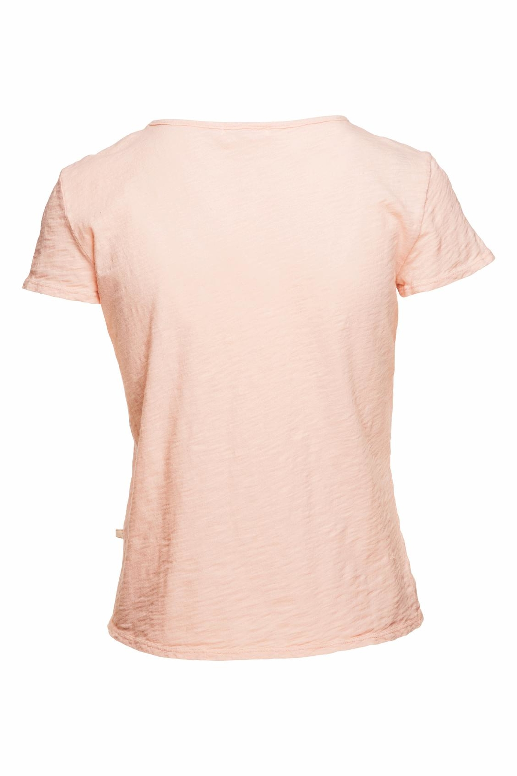 NYTT Blush Distressed Tee - Front Full Image