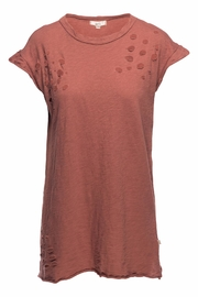 NYTT Distressed Tee Dress - Product Mini Image