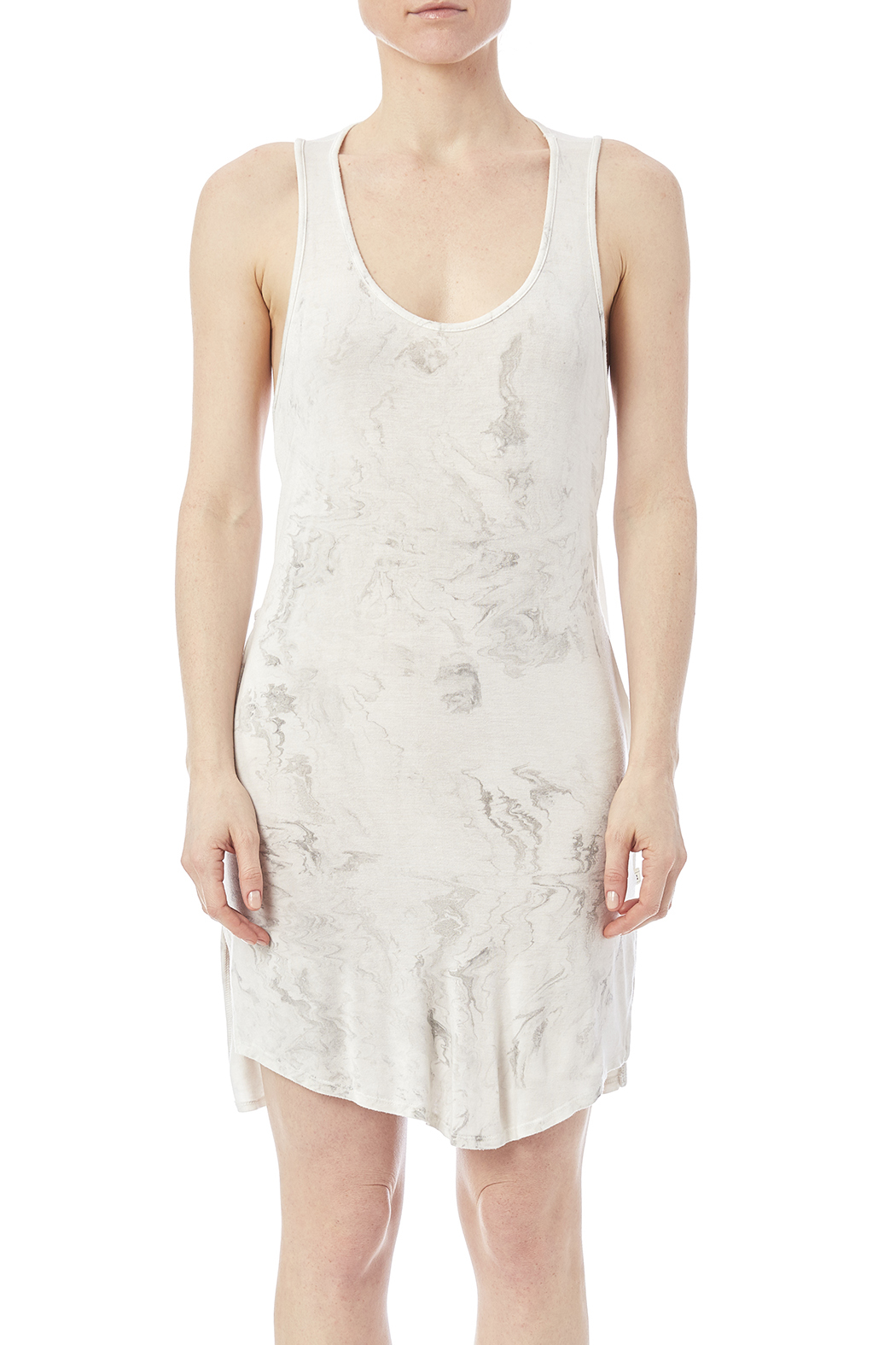 NYTT Marbled Tank Dress - Side Cropped Image
