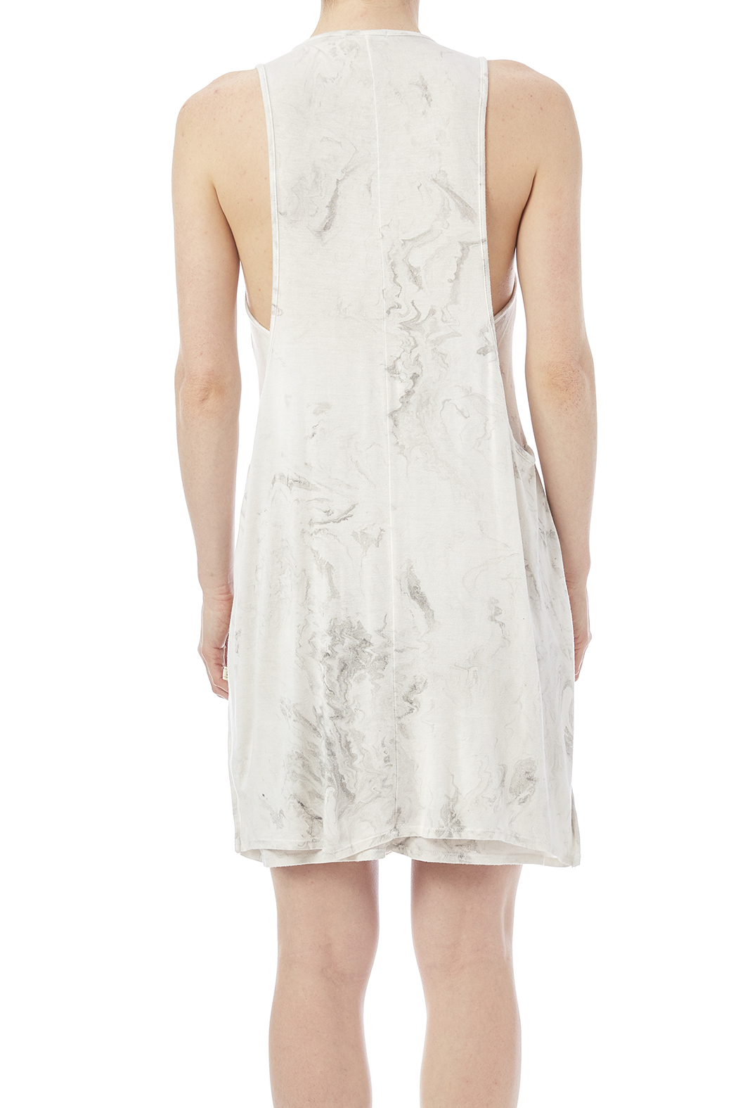 NYTT Marbled Tank Dress - Back Cropped Image