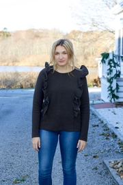 NYTT Ruffle Sweater - Product Mini Image