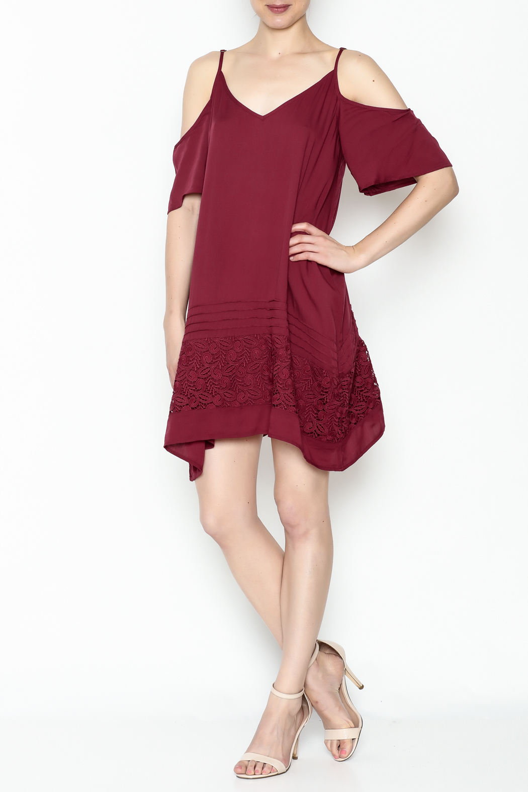 O'Neill Balboa Cold Shoulder Dress - Main Image