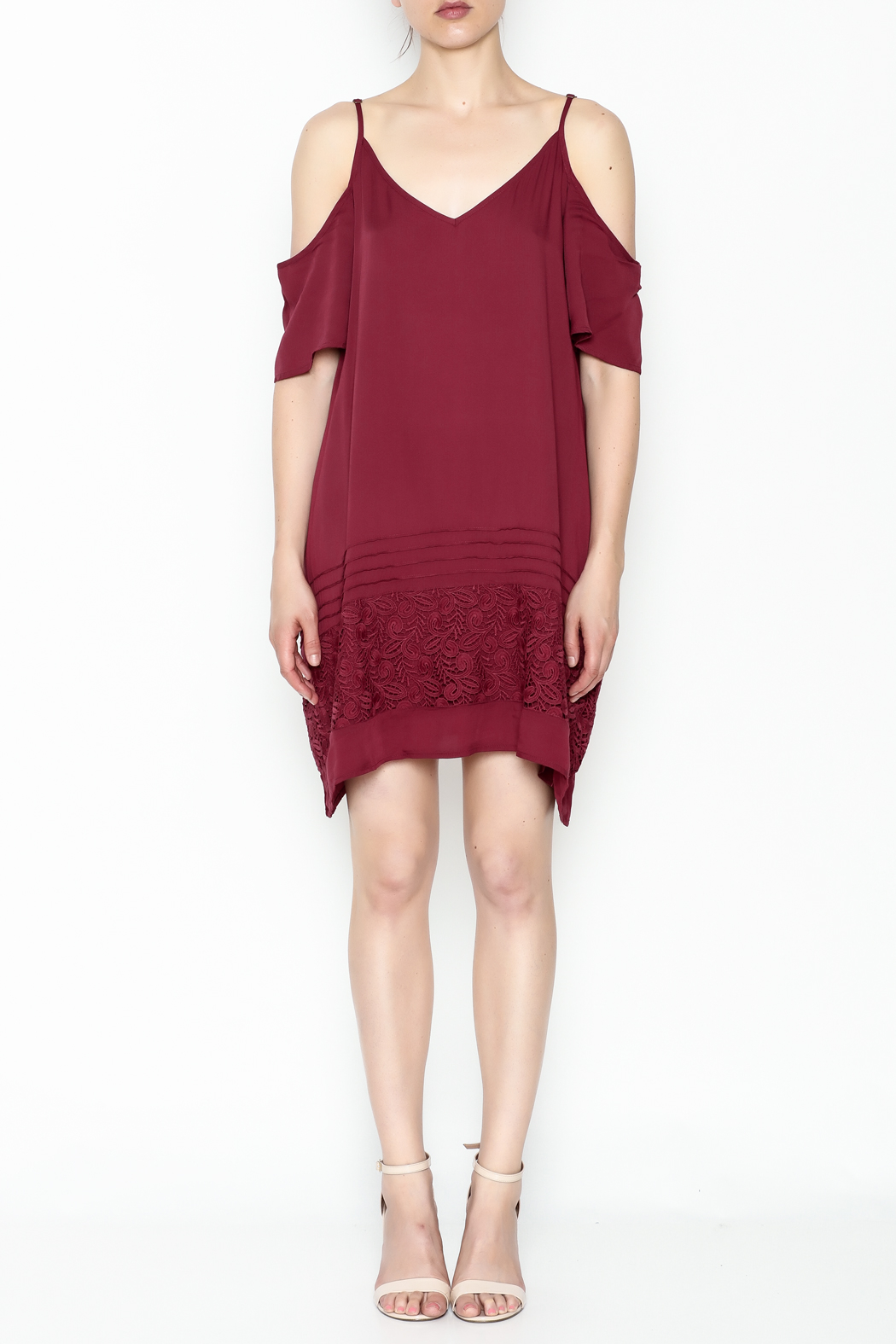 O'Neill Balboa Cold Shoulder Dress - Front Full Image