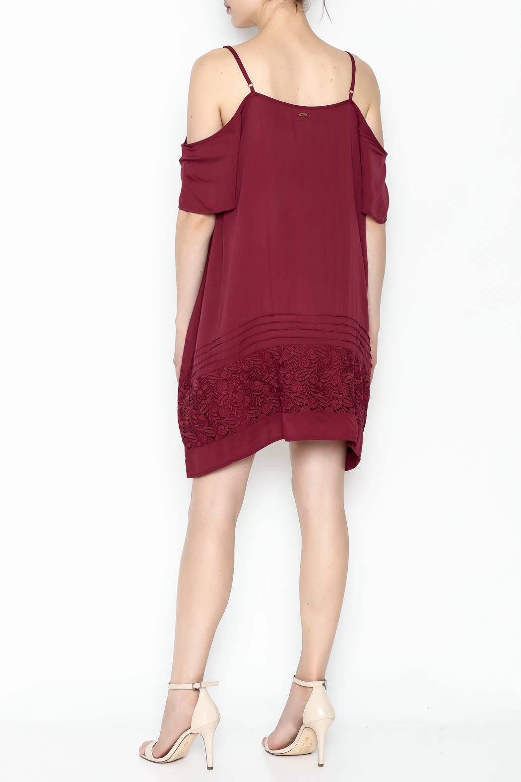 O'Neill Balboa Cold Shoulder Dress - Back Cropped Image