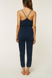 O'Neill Blue Cotton Jumpsuit - Front full body