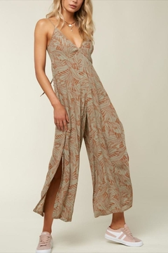 O'Neill Floral Tie Jumpsuit - Product List Image
