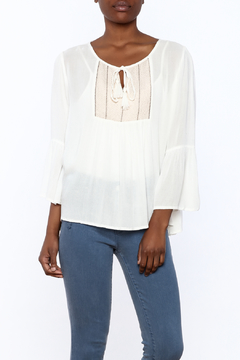 O'Neill Beige Peasant Blouse - Product List Image