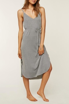 Shoptiques Product: Micro-Stripe Midi Dress