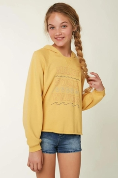 Shoptiques Product: O'neill Girls Lyza Hooded Pullover
