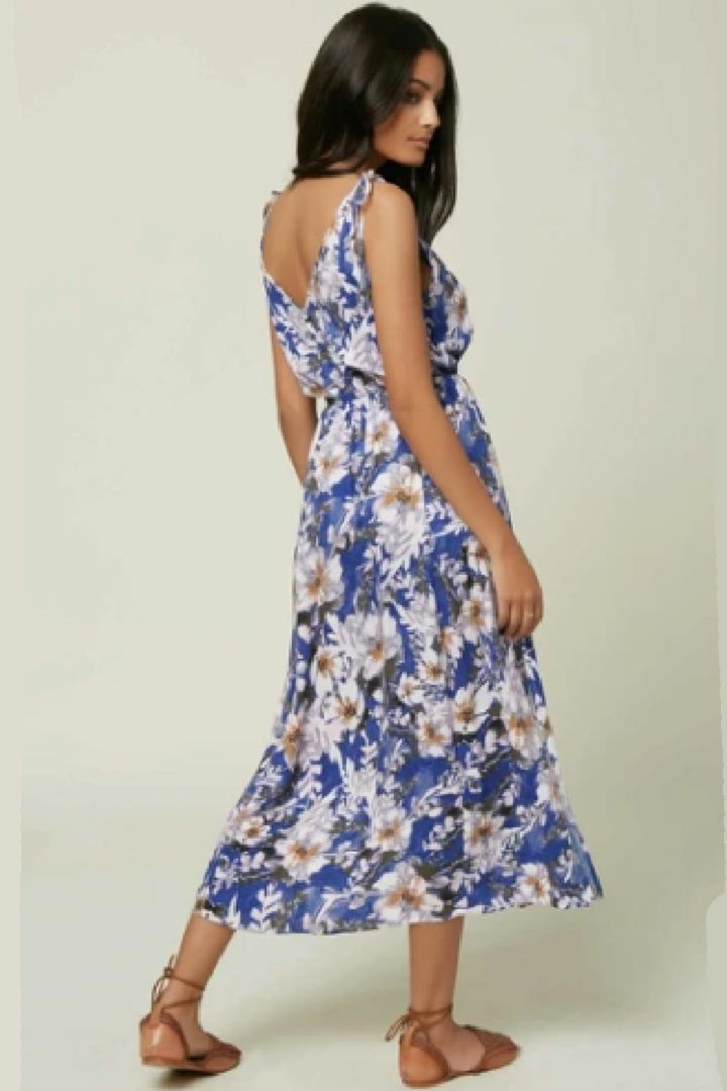 O'Neill Pretty Floral Dress - Front Full Image