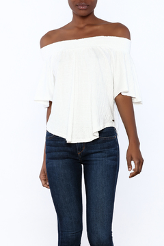 Shoptiques Product: Sahara Reese Off Shoulder Top