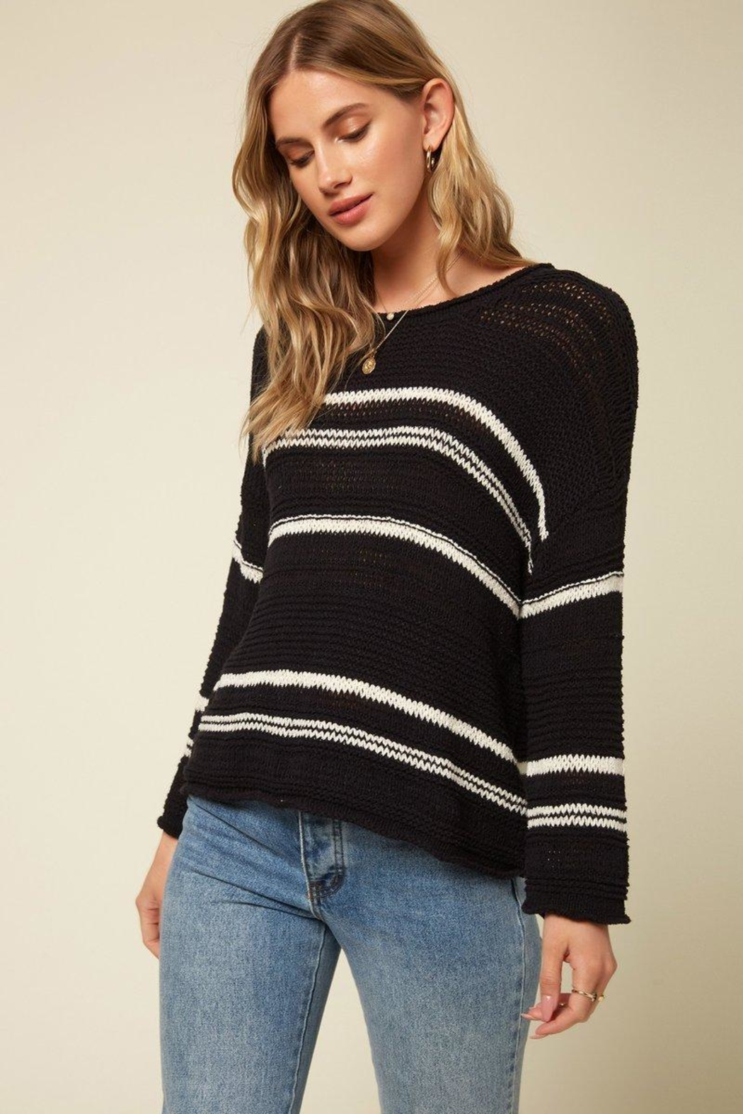 O'Neill Salty Black Sweater - Main Image