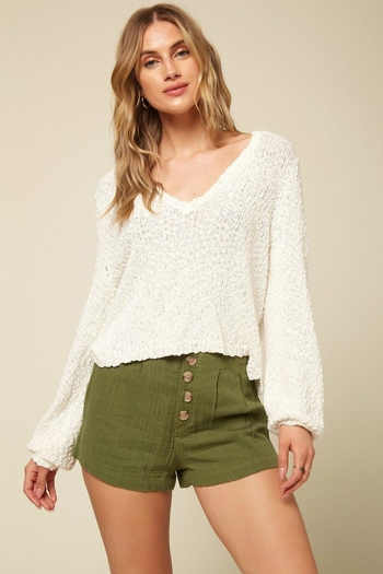 O'Neill Shores Solid Sweater from Miami by Neptunes — Shoptiques