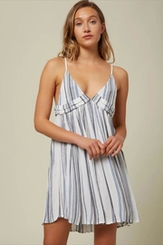 O'Neill Stripe Tank Dress - Front cropped