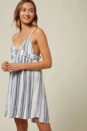 O'Neill Stripe Tank Dress - Side cropped